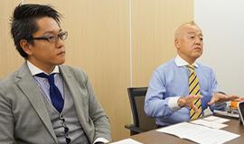 東京シャツ 渡部氏と高橋氏