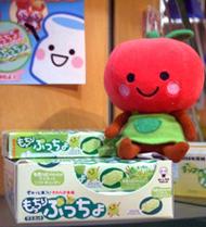 UHA味覚糖の目玉商品であるソフトキャンディ「ぷっちょ」シリーズ
