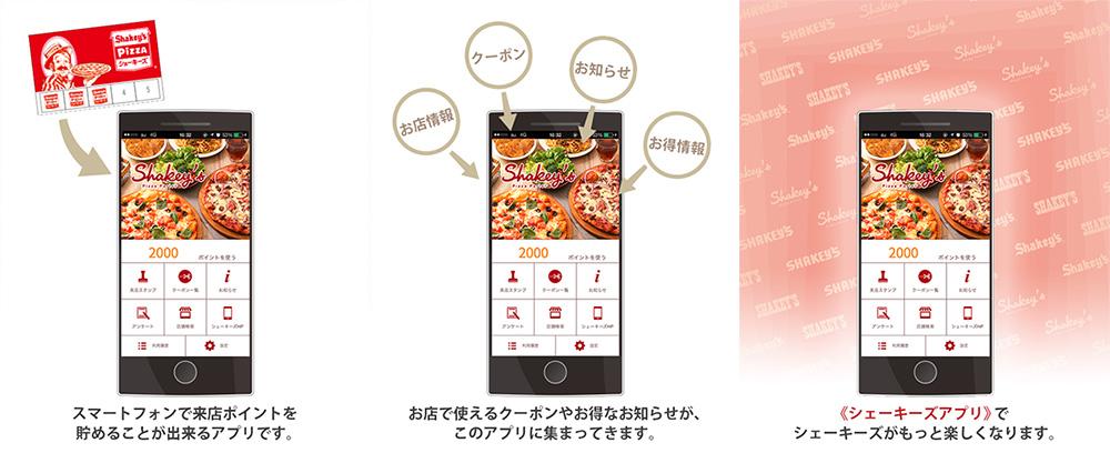 """アールアンドケーフードサービス『シェーキーズ』公式アプリ""""をリリース"""